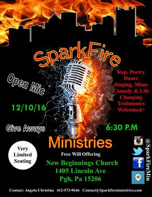 sparkfire-ministries-open-mic-12-10-16